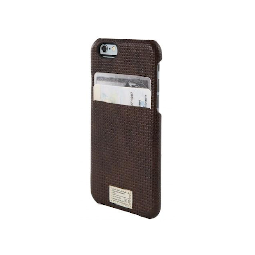 HEX iPhone 6/6S Solo Wallet Brown Woven