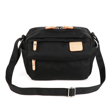 LYCEE STYLE MINI SHOULDER BAG-Black