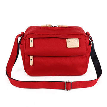 LYCEE STYLE MINI SHOULDER BAG-Red