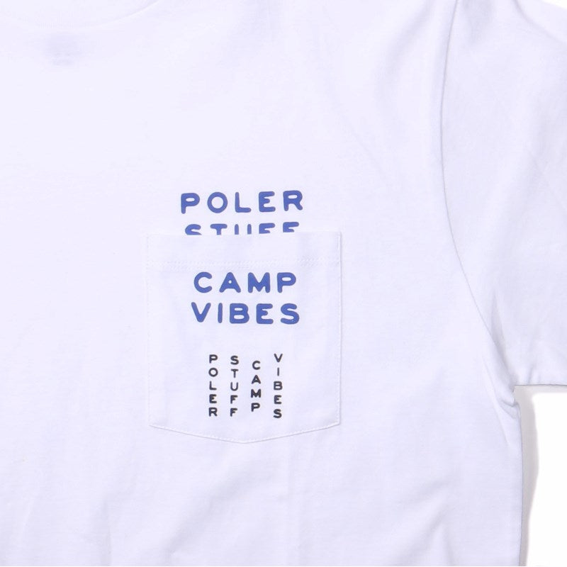 PSCV Pocket Long Sleeve Tee-White