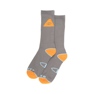 Cyclops Icon Sock-Grey