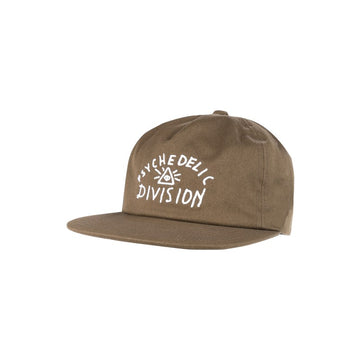 Psych Division Hat  Olive