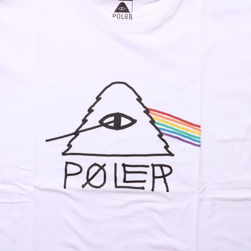 Poler Psychedelic Tee White