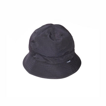 Reversible Drawcord Bell Hat - Black