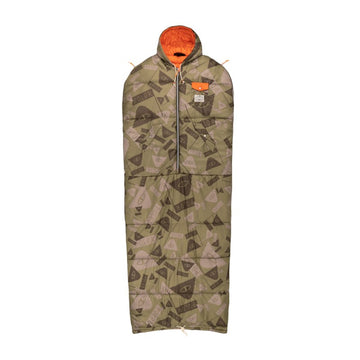 Reversible Napsack - Summit Camo Green