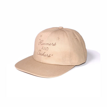 Roamers & Seekers 6panel Cap Beige