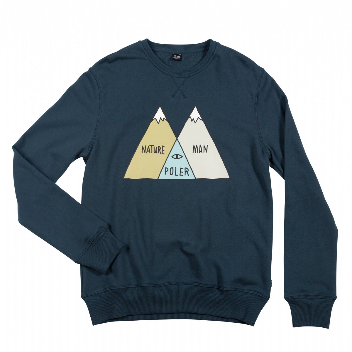 Crew Neck Venn - Blue Steel