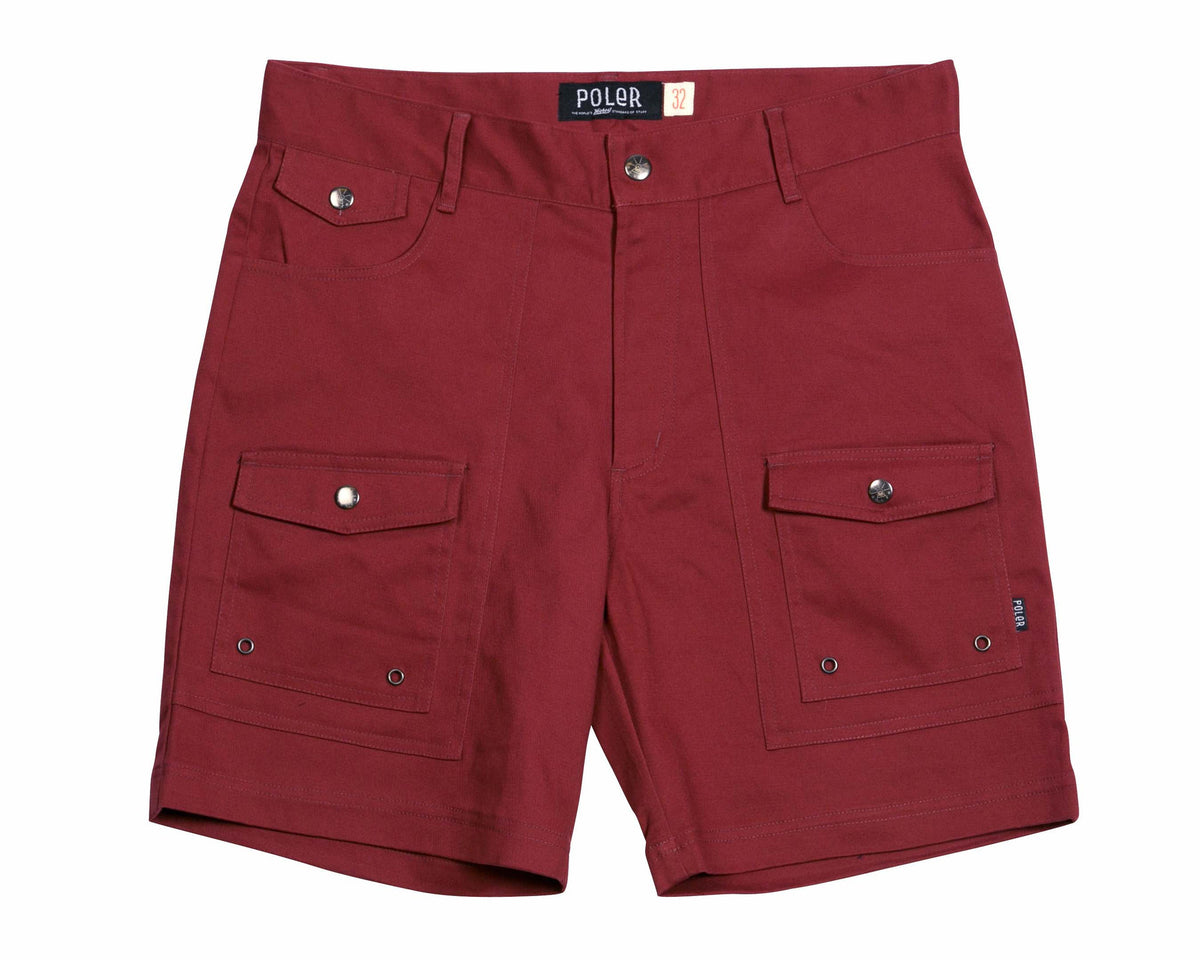 MENS CAMP SHORT - BRICK