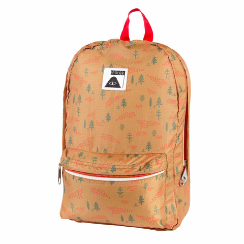 Stuffable Pack - Almond Forestry Print