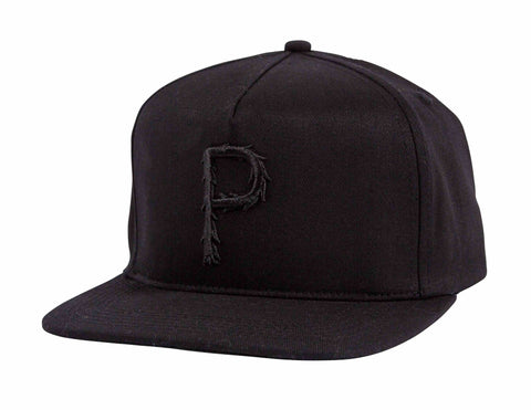 Furry P Snapback - Black
