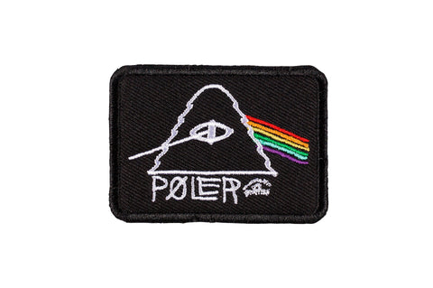 Psychedelic Iron-On Patch-Black