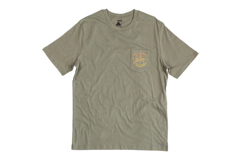 Enlightenment Pocket Tee-Olive