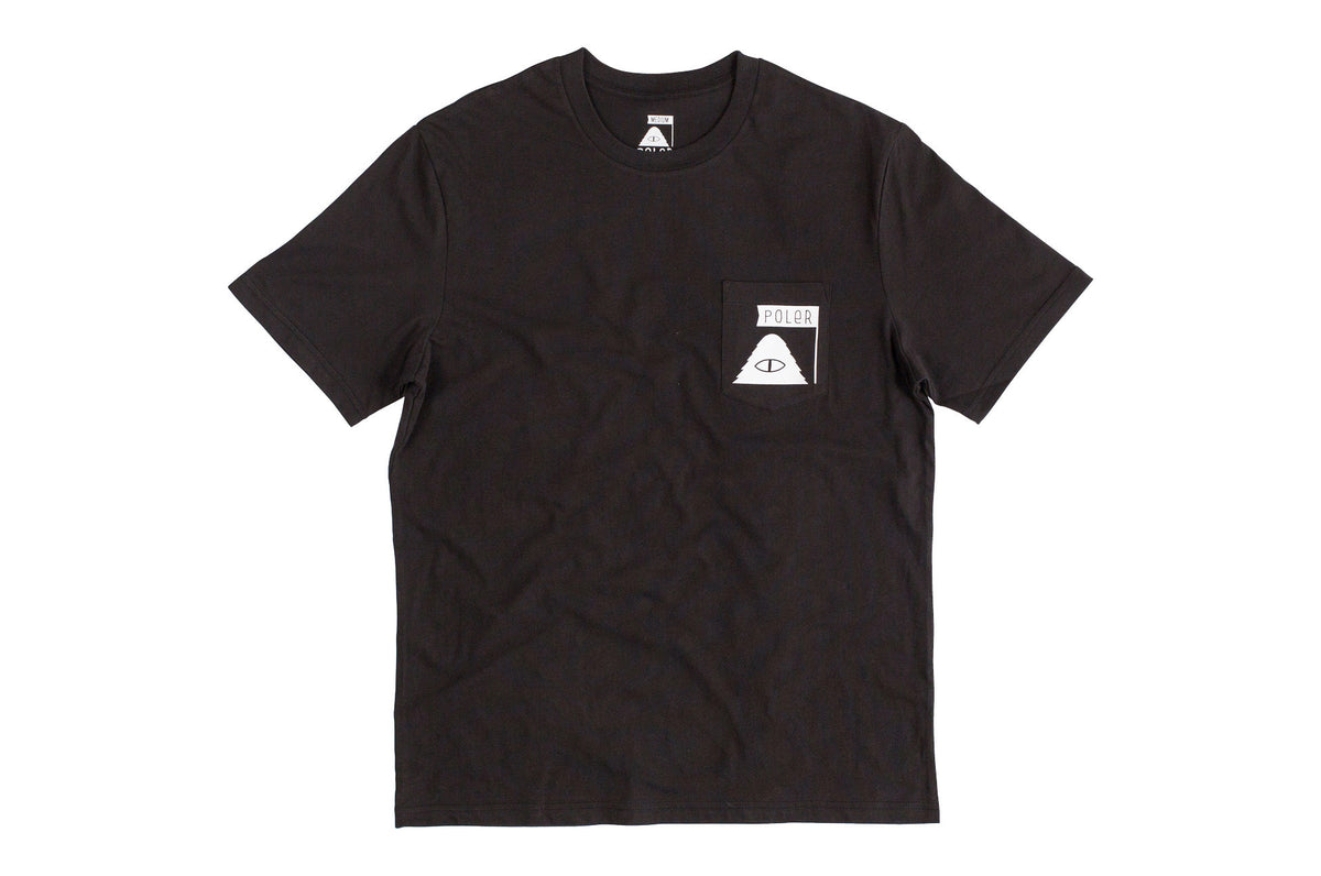 Summit Pocket Tee-Black