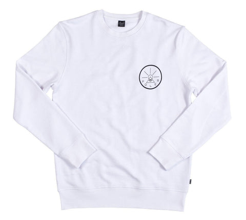 Golden Circle Crew-White