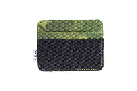 Card Holder-Green Furry Camo