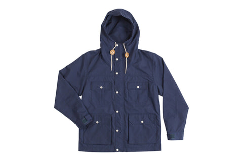 Draft Jacket-Navy