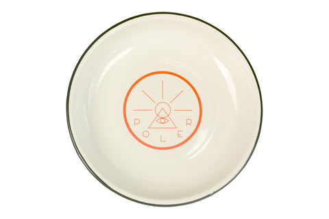 Golden Circle Enamel Plate-Off White