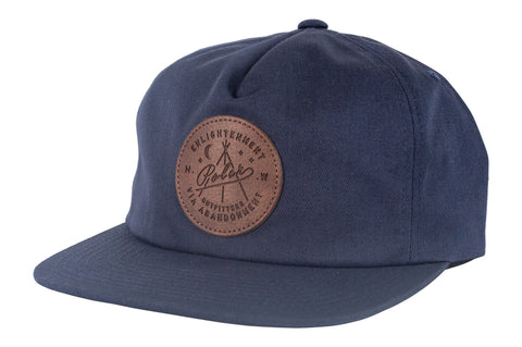 Enlightenment Snapback-Navy