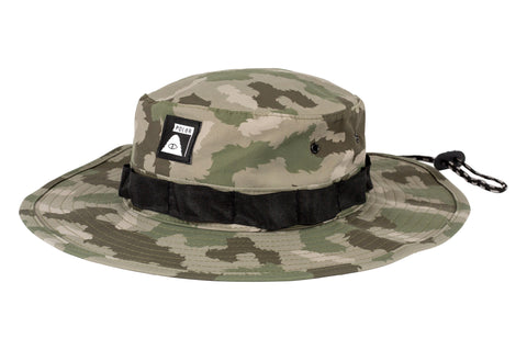 Boonie Hat-Green Furry Camo