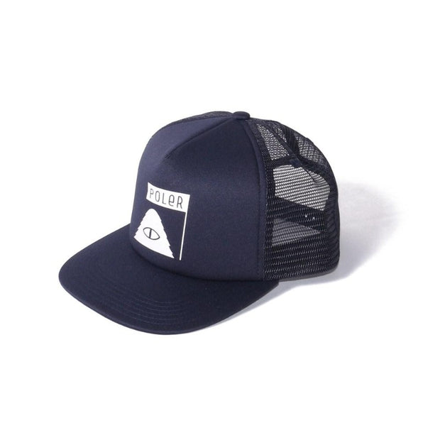 Summit Mesh Trucker-Navy