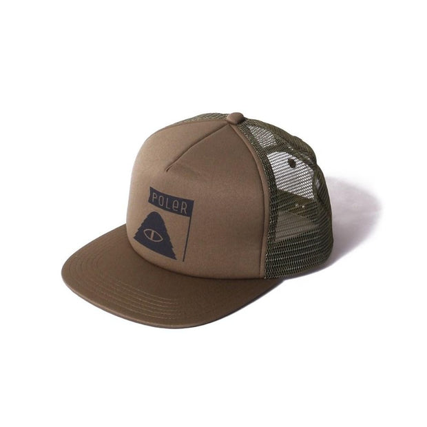 Summit Mesh Trucker-Olive