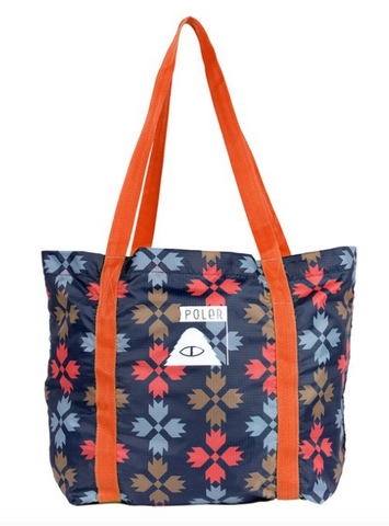 Stuffable Tote - Bear Paw Print