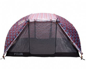 Two Man Tent - Blue Steel Floral