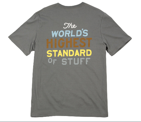 Highest Standard Tee - Steel