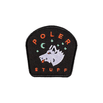 Poler Starry Night Iron-On Patch Black