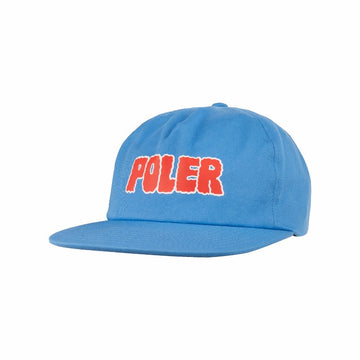 Wiggle Font Hat Powder Blue