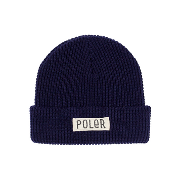 Poler Workerman Beanie Navy