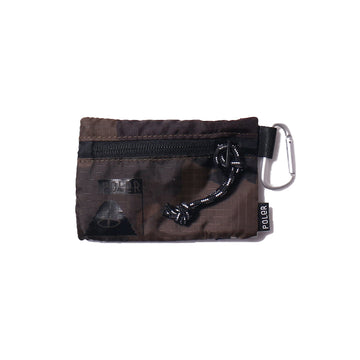 Zipper Wallet-Olive Furry Camo