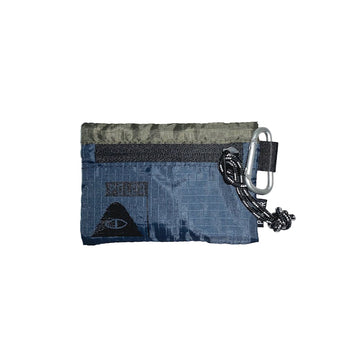 Zipper Wallet-Olive/Navy