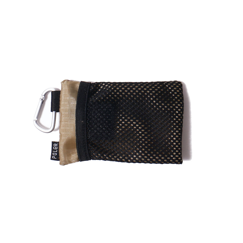 Zipper Wallet-Purple/Beige