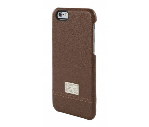 iPhone 6/6S Focus Case - Dark Brown Leather