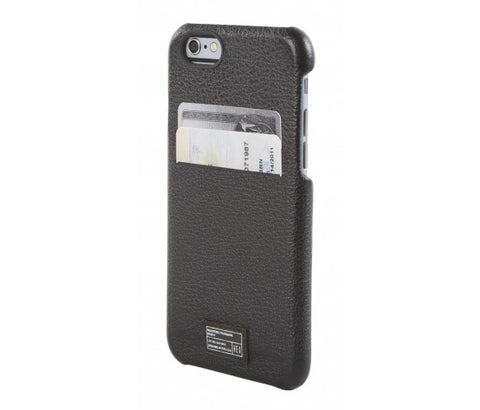 iPhone 6/6S Solo Wallet - Black Leather