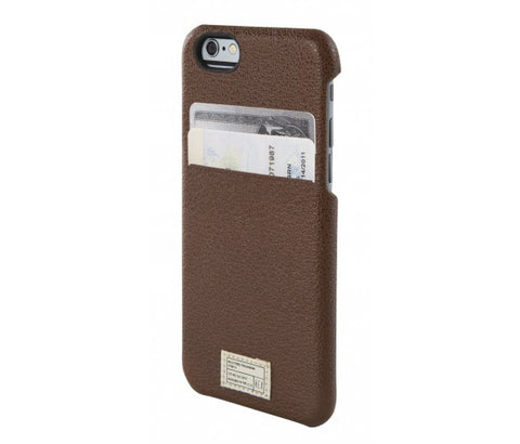 iPhone 6/6S Solo Wallet - Dark Brown Leather