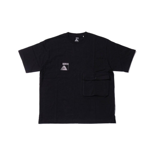 Summit Heavy Weight Double Pocket Tee-Black