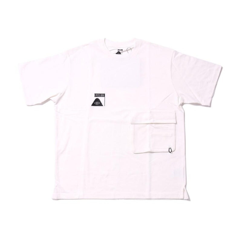 Summit Heavy Weight Double Pocket Tee-White