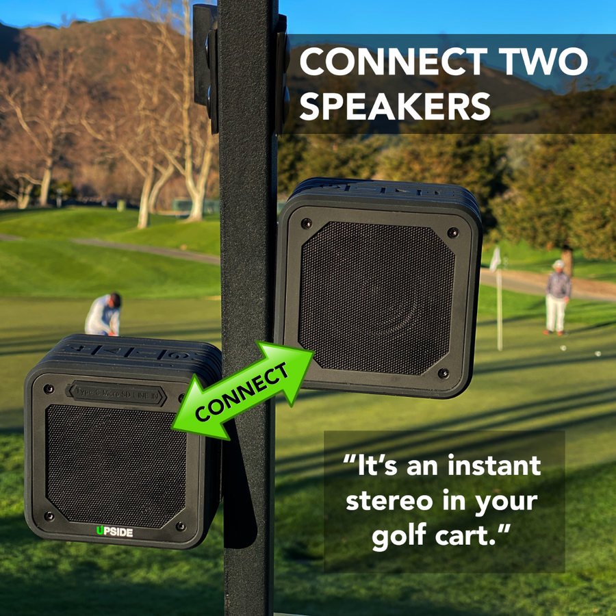 NEW SUPERX7 PRO - MAGNETIC GOLF BLUETOOTH SPEAKER