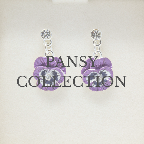 Pansy jewellery collection