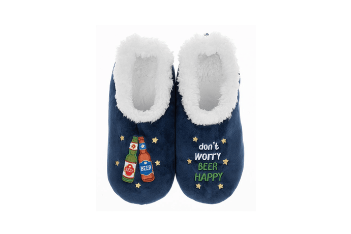 Beer happy pairable slippers