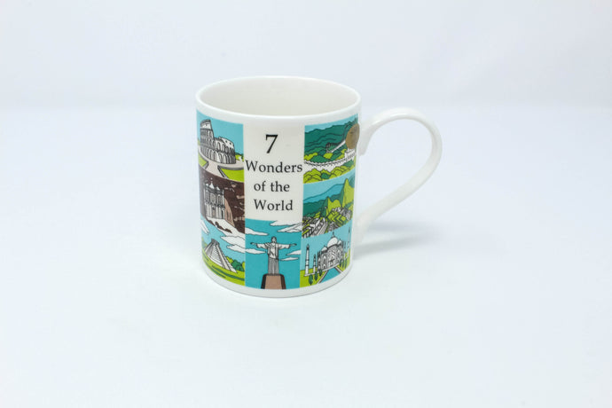 7 wonders of the world mug