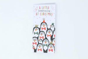 Christmas penguin money wallets