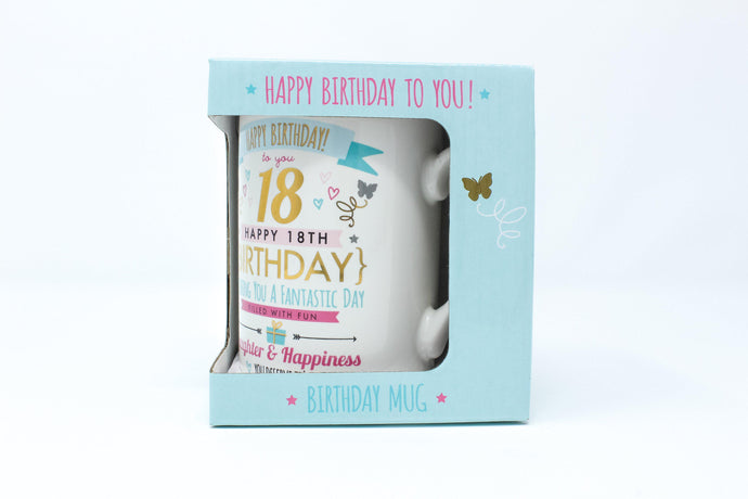 Happy Birthday To You! 18th Mug
