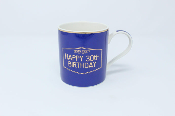 Happy 30th birthday mug