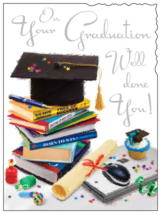 Graduation well done card