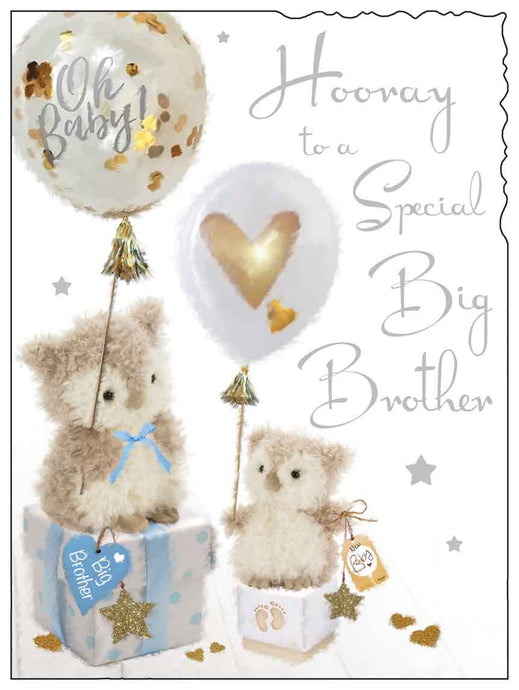 Hooray to a special big brother card