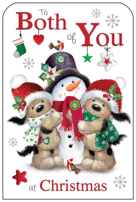 To both of you at Christmas card