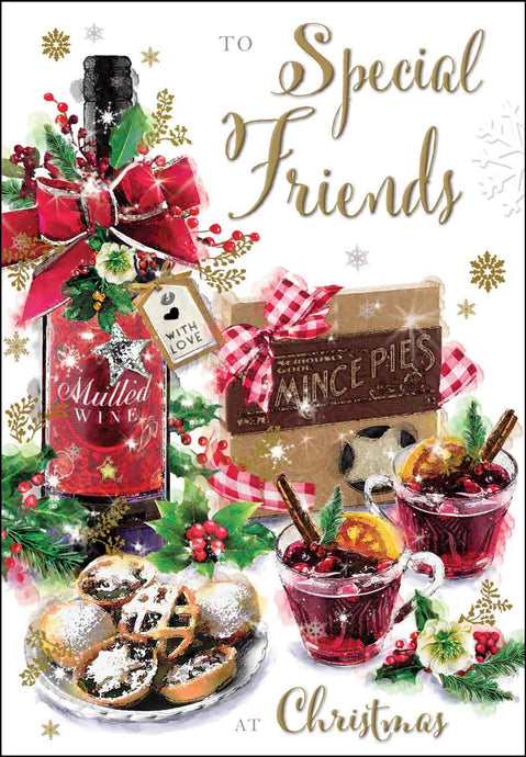 Special friends at Christmas card